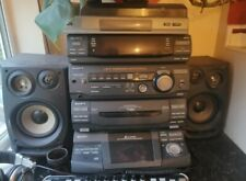 Hi Fi System Unit Sony LBT-XB8OAV tape Deck Record Player CD Multi Disk Changer