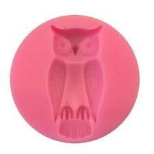 Owl / Bird Silicone Mould - Sugarcraft Chocolate Icing Cake Decorating - New