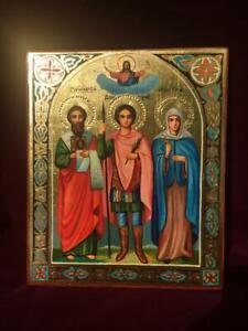 Icon Timofey, Dmitry, Anisia