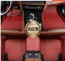 Customized Car floor mats fit for Toyota Highlander  7 seats 2009-2020
