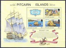 Pitcairn Islands 1978 MNH SS, Ships & Boats, Bounty Day