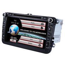 """8"""" 2 Din Car DVD Player NAV GPS  Radio Stereo Video For VW PASSAT Skoda Golf MK5"""