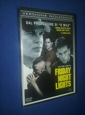 cofanetto+DVD NUOVO Film FRIDAY NIGHT LIGHTS BILLY BOB THORNTON