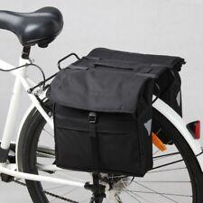 Doppel Gepäckträger Fahrrad Tasche Fahrradtasche Gepäcktasche Steckverschluss