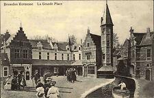 Brüssel Bruxelles Belgien 1910 Kermesse La Grande Place Kanal Verlag Valentine