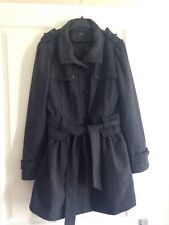 New Look Grey Coat Size 12