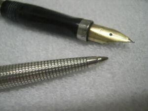 Parker 75 sterling  Fountain Pen set excellent
