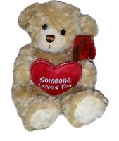 "Keel Toys - Someone Loves You Plush Bear 8"" VALENTINES DAY,BIRTHDAY,CHRISTMAS"