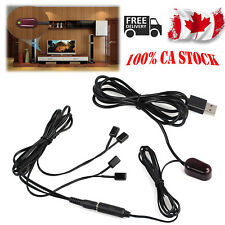 USB1 Receiver 4 Emitters IR Extender Repeater System Infrared Remote Control Set