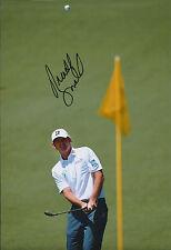 Brandt SNEDEKER SIGNED AUTOGRAPH Golf Photo AFTAL COA Masters Augusta National