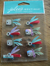 EK SUCCESS JOLEE'S BOUTIQUE FISHING LURES REPEATS STICKERS BNIP