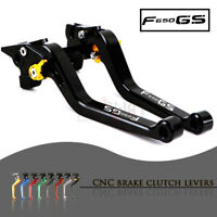 1 PAIR Long Adjustable Motorcycle Brake Clutch Levers Set for BMW F650GS 08-12