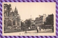 CPA 14 - CAEN place st pierre