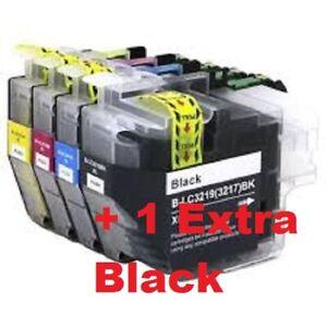LC3219/17XL Black, Colours, Non-OEM, MFC-J5330DW / MFC-J5335DW / MFC-J5730DW