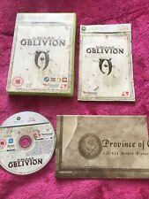 The Elder Scrolls IV Oblivion XBOX 360 Jeu avec Manuel et carte