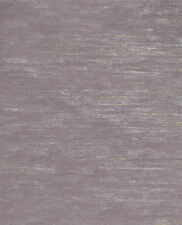 Shiny Silver and Beige Stria on Lavender Background Wallpaper FV2189