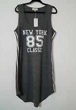 NO COMMENT PLUS NY•LA PLUS SIZE 3X WOMEN'S SPORT DRESS RACER BACK SLEEVELESS NWT