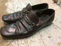 PRADA loafers moc dress casual derby mens shoes sz 9