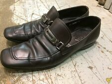 PRADA loafers moc dress casual derby mens shoes sz 9