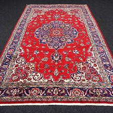 Türkischer Orient Teppich 338 x 208 cm Isparta Rot Old Turkish Ushak Oushak Rug