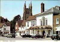 Great Britain Postcard TENTERDEN Street Scene Car Cars Auto Autos England AK