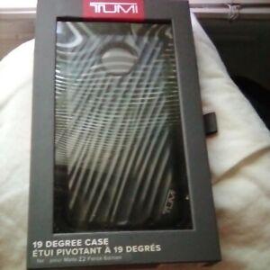 "TUMI ""19 Degree"" Designed Case/Cover For Motorola Moto Z2 FORCE Edition in BLACK"