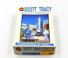 Thunderbirds - Scott Tracy Pilot with Thunderbird 1 Plastic Character Model Kit