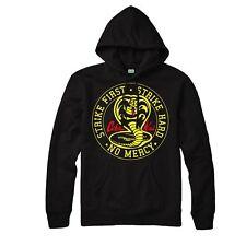 Cobra Kai Hoodie The Karate Kid Strike First No Mercy Men Adult Kids Hoodie Top
