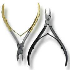 TOE NAIL INGROWN CUTICLE NIPPER CLIPPERS PODIATRY INSTRUMENTS MANICURE PACK OF 2