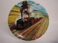 BRADEX & DAVENPORT POTTERY GREAT STEAM TRAINS THE WAVERLEY PLATE