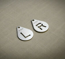 X-Ray Marker (L and R), AP or PA use, PremiumQuality Laser Cut Stainless Steel