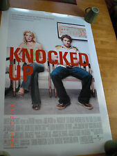 """Knocked Up original Movie Poster 2007 27x40"""" Excellent! DS double sided"""