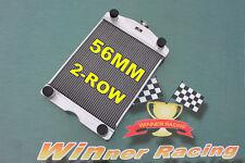 """Aluminum Radiator Ford 2N/8N/9N Tractor W/Flathead V8 2x1"""" Tubes 700HP 1928-1952"""
