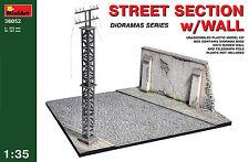 MiniArt 1/35 36052 Street Section w/Wall (WWII Military Diorama)