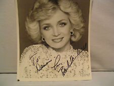 Barbara Mandrell, Autographed B&W Photo, Signer & Writer, Musician, Movie Star,