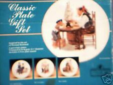 Classic Plate Gift Set by Norman Rockwell Museum
