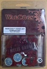 Warcogs-token set komrade red gf9 50640