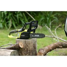 Ryobi One+ 18V Cordless Chainsaw - Skin Only Push button chain oiling