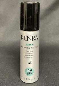 Kenra Clasic Nitro Memory Creme #18 Firm Hold Mousse 1.2oz Travel Size