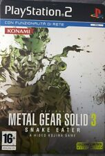 Ps2 METAL GEAR SOLID 3 SNAKE EATER LIMITED METAL EDITION VERS ITA