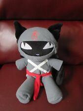Emily the Strange Ninja Kitty Plush Toy Doll Toynami