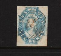 Tasmania - #15 used, cat. $ 150.00