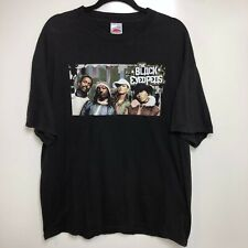 The Black Eyed Peas T-Shirt Men's XL Black Concert Band Tee 00's Money Business