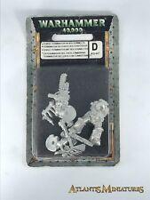 Metal Chaos Space Marine Terminator - Rare - OOP - Warhammer 40K N179
