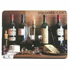 Creative Tops Vintage Wine Traditional Cork-backed Placemats Set of 6