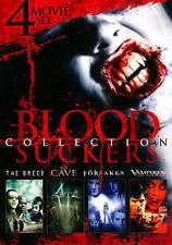 BLOOD SUCKERS Collection (DVD, 4 SET) Breed, Cave, Forsaken, Vampires Turning LN