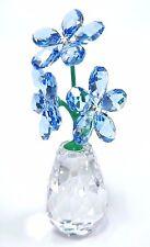 FORGET-ME-NOT - FLOWER DREAMS - BEAUTIFUL BLUE 2017 SWAROVSKI CRYSTAL  5254325