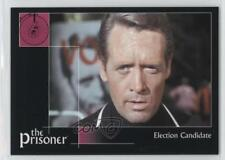 2002 Cards Inc The Prisoner Autograph Series #14 Election Candidate Card 0f8