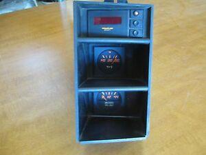 Ferrari Testarossa Console Gauge Set Clock Fuel Level Oil Temperature #131461