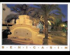 BENICASIM (ESPAGNE) FONTAINE illuminée en 2001 / Timbre POMPIER
